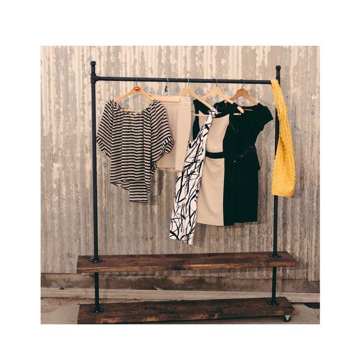 Best 25 Rolling Clothes Rack Ideas On Pinterest