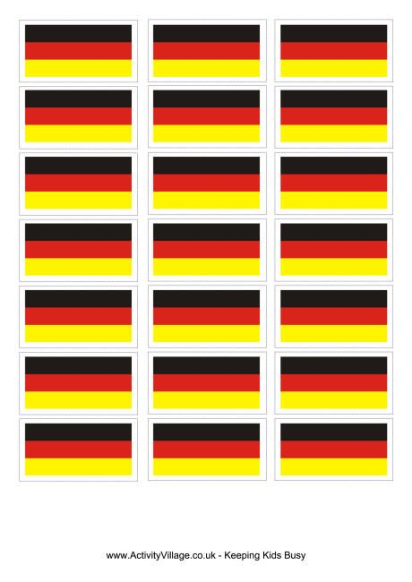 Germany flag printable
