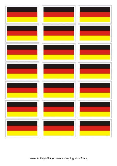 Germany flag printable