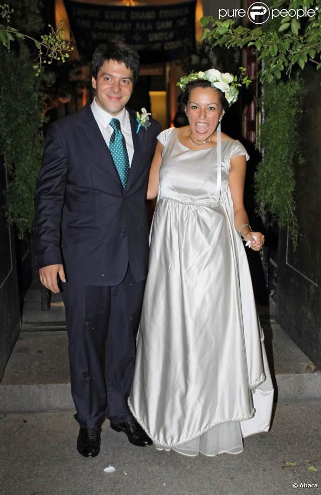 Mariage de Bernardo et d'Eva Prinz-Valdez