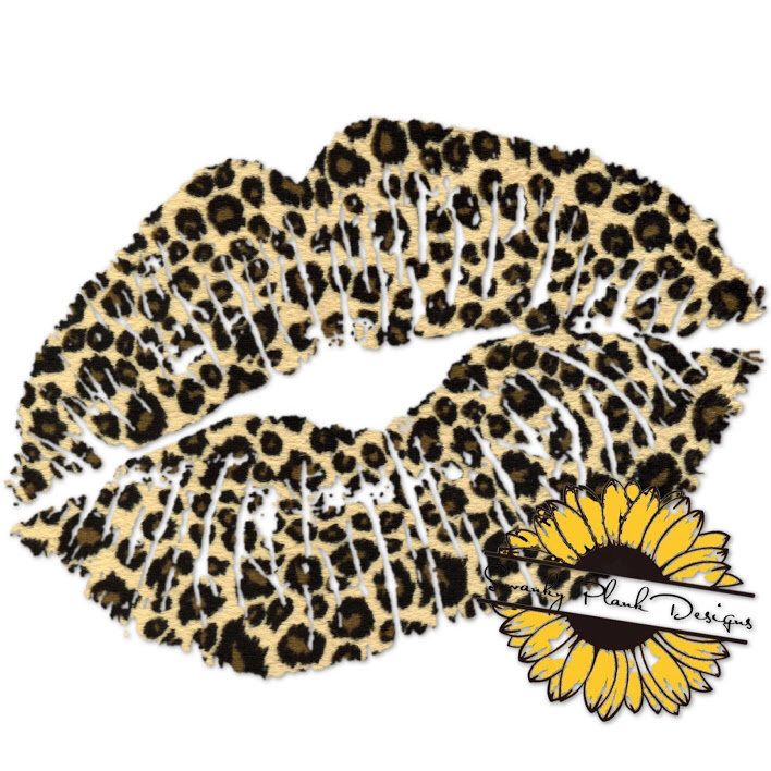 Leopard Print Lip Png File Sublimation Download Digital Etsy In 2021 Leopard Print Tattoos Cheetah Print Tattoos Cheetah Print Wallpaper