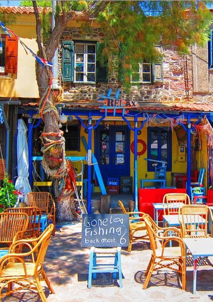 Greece Travel Inspiration - Molyvos, Lesbos, Greece