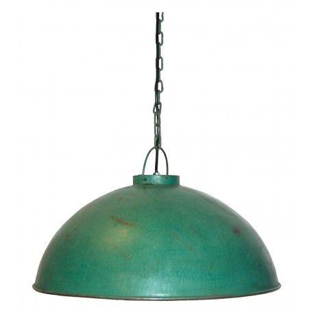 Závesná lampa industriálneho štýlu - svetlozelená - Canapé - Industriálny štýl