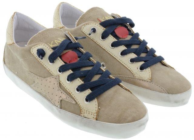 Ishikawa Sneakers Beige&Gold