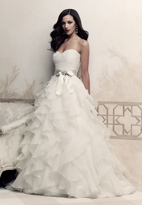1000 Ideas About Strapless Wedding Dresses On Pinterest