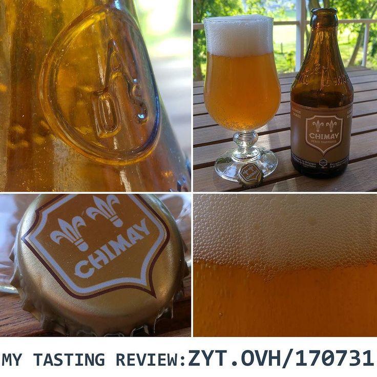 Dégustation de la Chimay Blonde Dorée >> www.zyt.ovh/170731 ............................................................................. #BeerTime #ZythoTaste #Beer #Bier #Bière #Øl #Olut #Olout #Öl #Birre #Birra #Cerveza #Pivo #Cerveja #Пиво #ビール #Bīru #Bia  #beercaps #igbeer #beersommelier #beerstagram #loversbeer #instapic