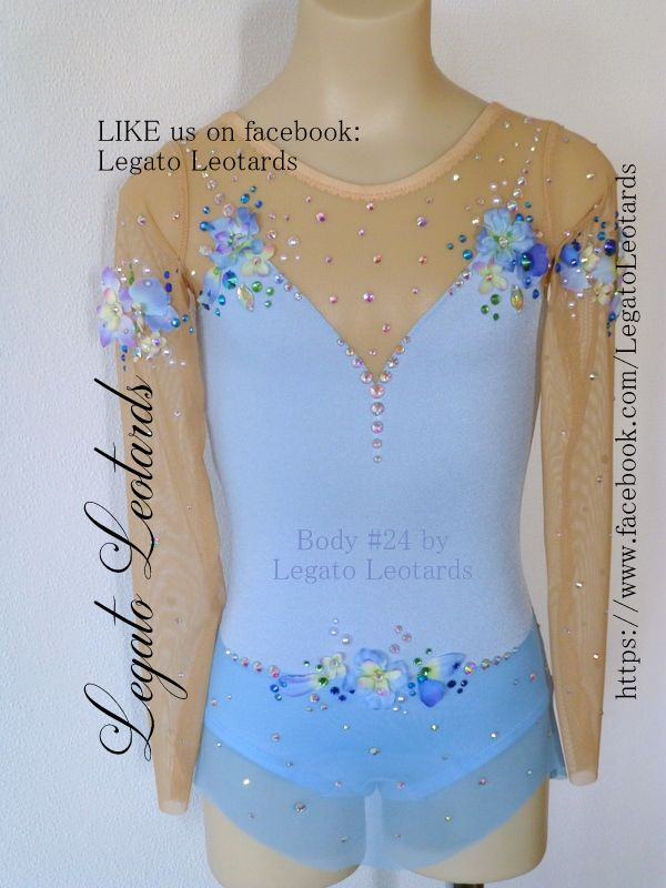 Like us on facebook to see our leotards.  #LegatoLeotards  #blueleotard #iceskatingdress
