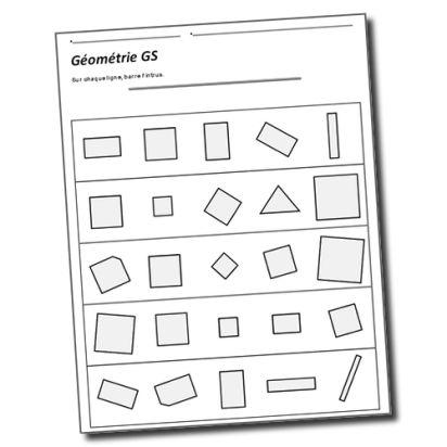 Vers les maths GS Période 4 : Carrés et rectangles | la maîtresse a des yeux dans le dos