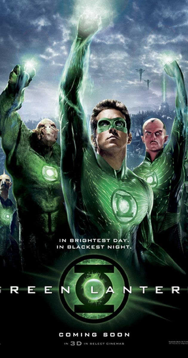 Directed by Martin Campbell.  With Ryan Reynolds, Blake Lively, Peter Sarsgaard, Mark Strong. Reckless test pilot Hal Jordan is granted an alien ring that bestows him with otherworldly powers that inducts him into an intergalactic police force, the Green Lantern Corps.