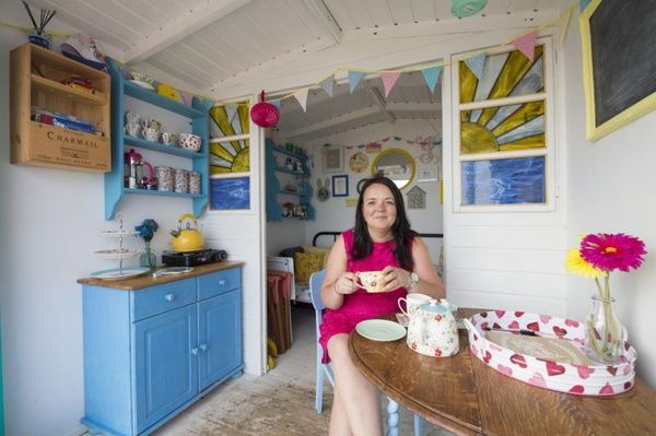 On the podcast this week, an interview with the lovely Vicky, who runs beach huts business MilliesBeachHuts