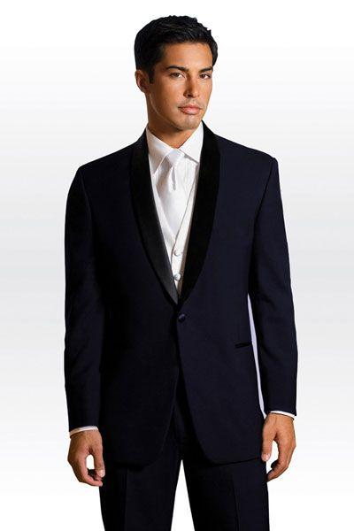 Midnight Blue Skyfall Wedding Tuxedo