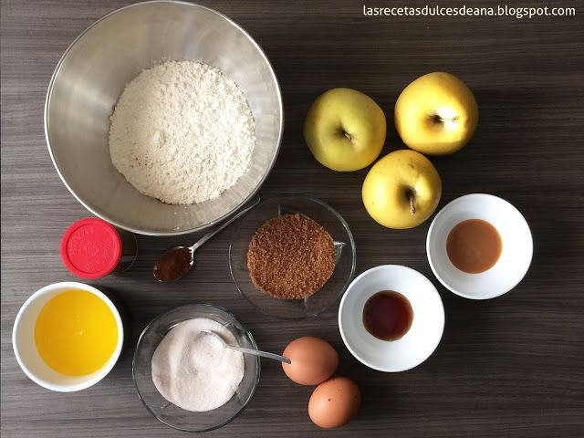 Las recetas dulces de Ana: Bundt cake de manzana y canela