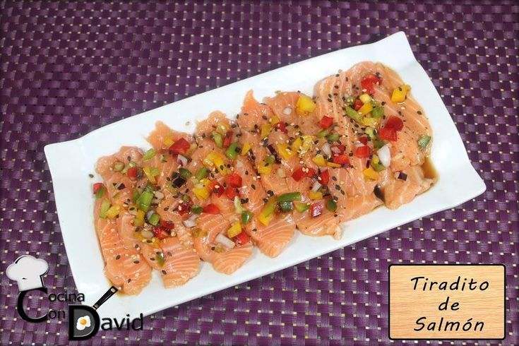 Cómo preparar tiradito de salmón