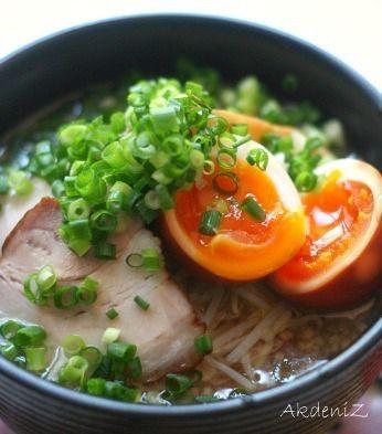 チャーシューと煮卵と松江ラーメン。 by akdenizさん | レシピブログ ...