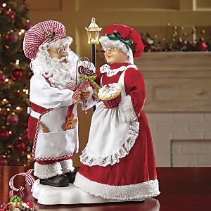 Animated Santa and Mrs. Claus from Through the Country Door® | CF704397