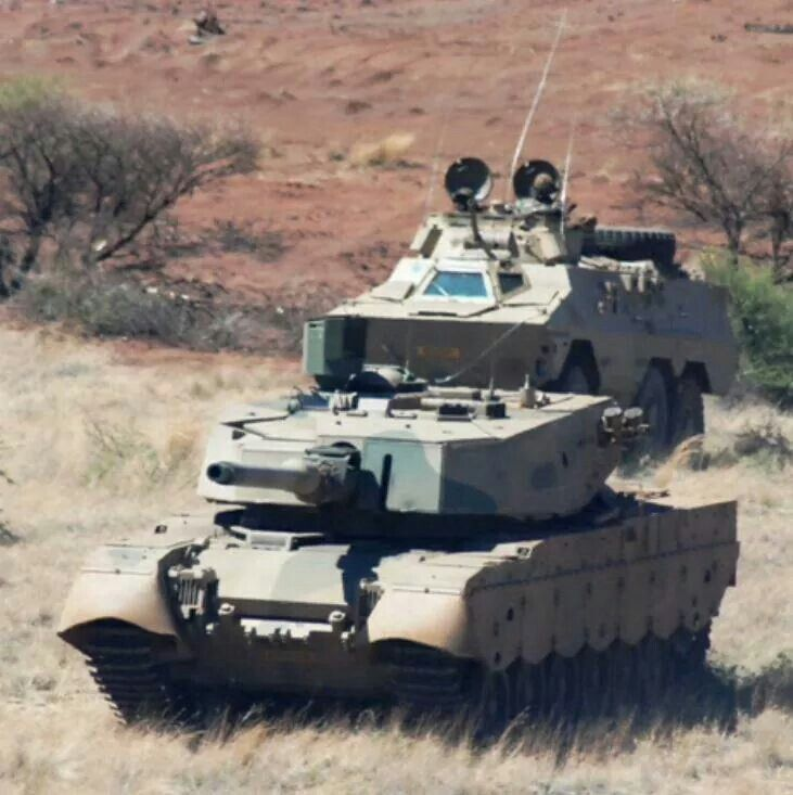 Olifant tank and Ratel 60
