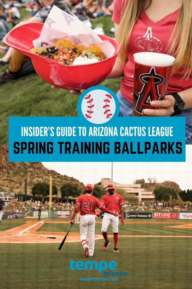 An Insider S Guide To The Arizona Cactus League S Ballparks And Culinary Scene In 2020 Arizona Arizona Cactus Spring Training