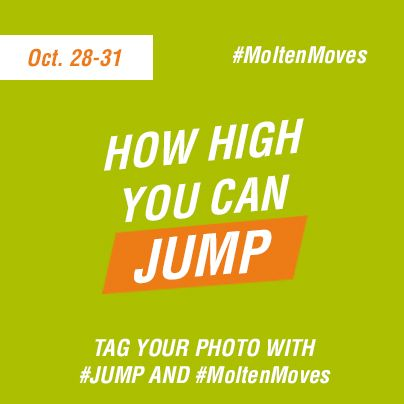 Show us your best #jump in this week's #MoltenMoves photo challenge! @Jill Jackson Norris Volleyball