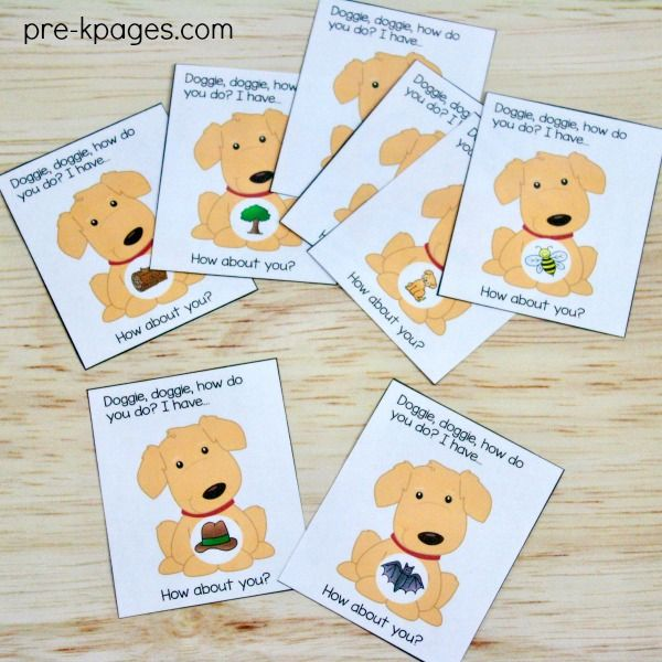 Pets Theme Activities And Centers For Preschool Preschool Theme Activities Pets Preschool Rhyming Activities Preschool