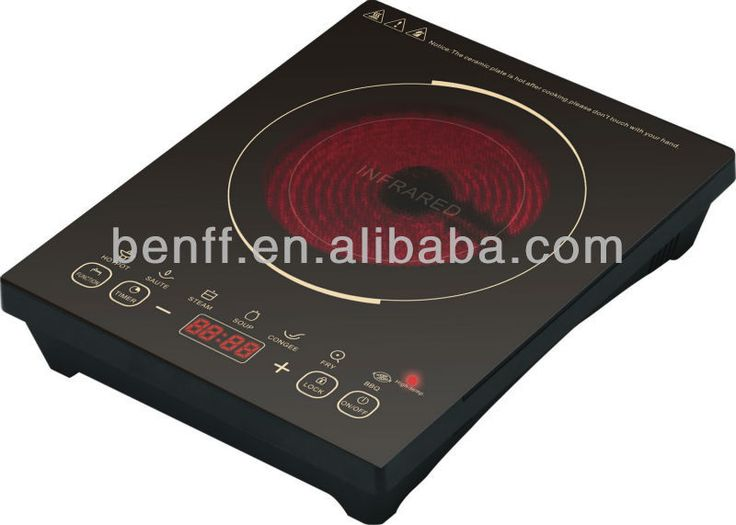 New design! high quality 4 digital display electric hotplate