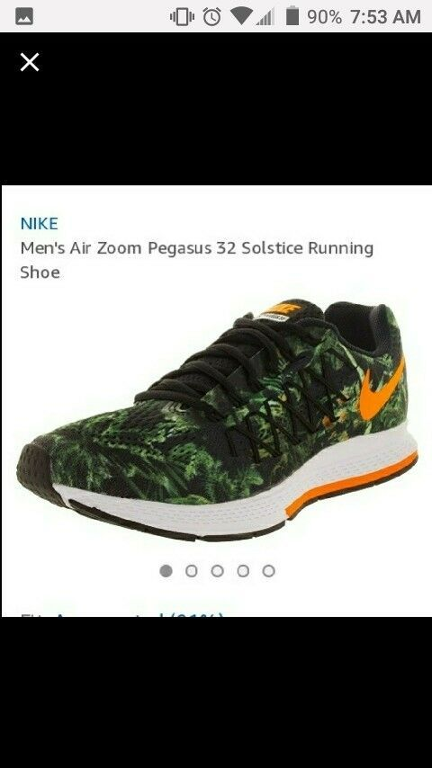 best authentic 5db00 5621f Imens nike air zoom pegasus 32 solstice sneakers size 13 ...