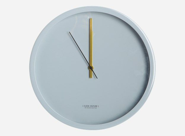 Lt0210 - Vægur, Clock Couture, grå, dia.: 30 cm
