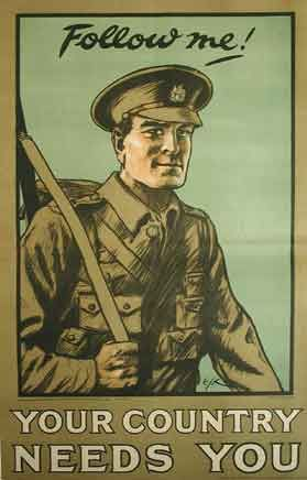 kingy graphic design history: Post 7. CIEN. WW1 propaganda posters