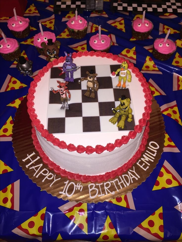 25 Best Ideas About Fnaf Cakes Birthdays On Pinterest