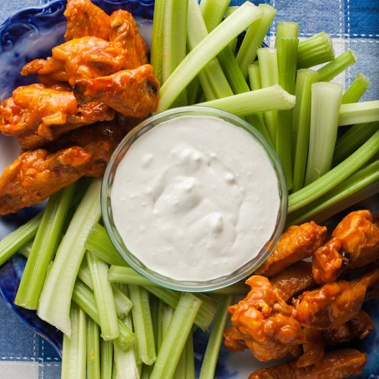 Buttermilk Blue Cheese Dressing is the perfect dip for wings ...
