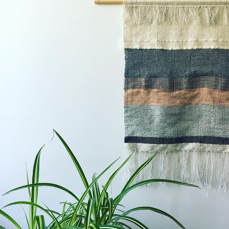 Handwoven wall hanging #handwoven #wallart #walldecor #wallhanging #copper #contemporarytextiles #weaversofinstagram #weave #abstraction