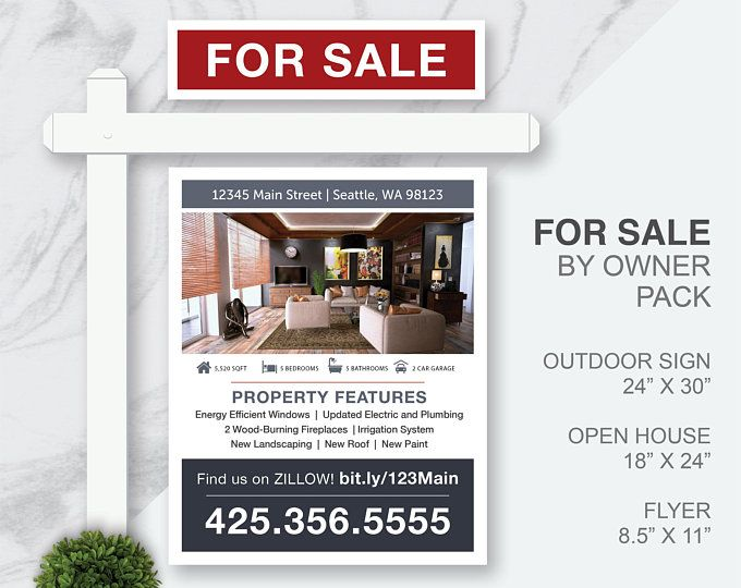 Digital Real Estate For By Owner Printables