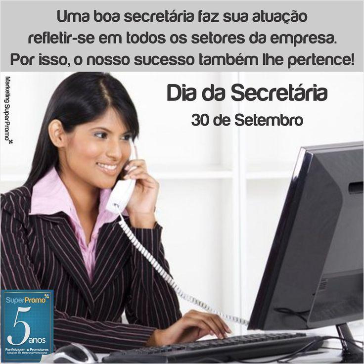 30 de Setembro Dia da Secretária Dia da secretária