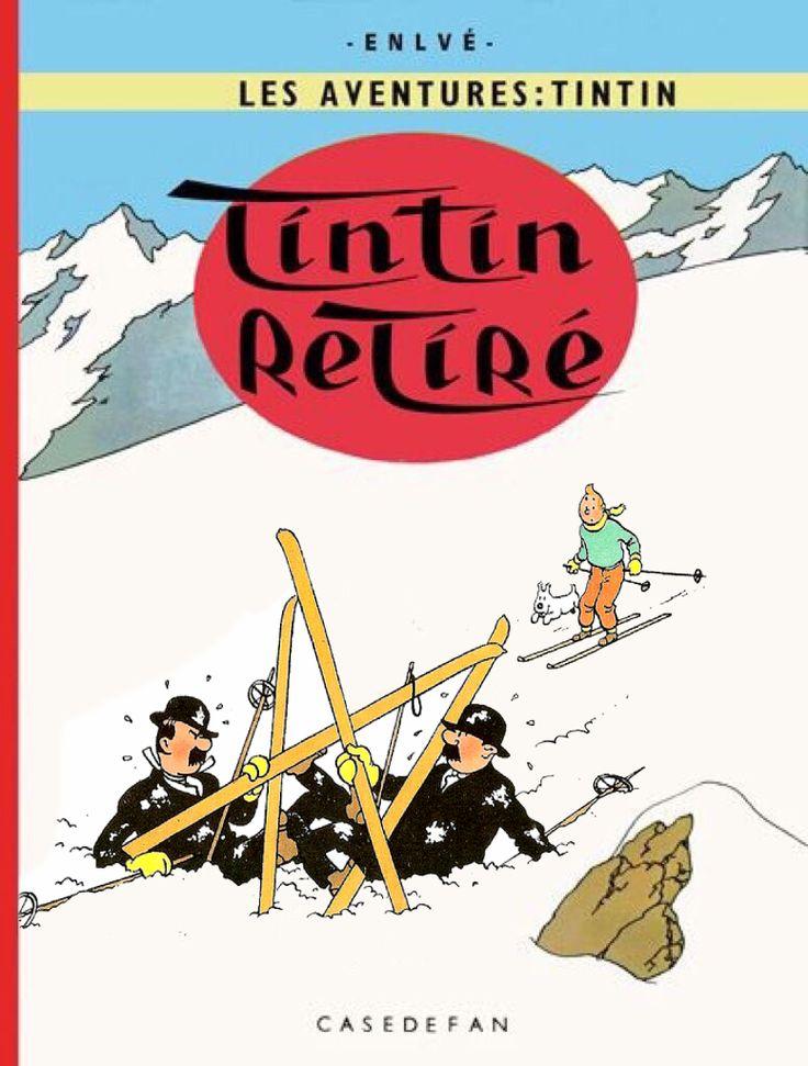 Tintin retiré