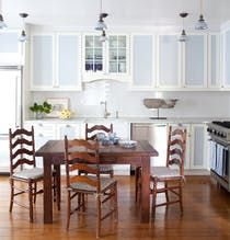 Southampton Cottage Kitchen  Kitchen  Dining  Butler's Pantry  Breakfast Room  Colonial  Rustic  American  Cottage  Coastal  Farmhouse by Hernandez Greene