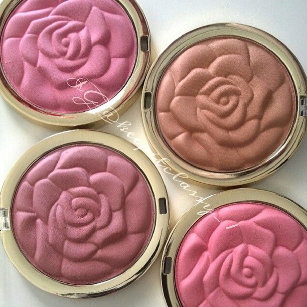 New Milani blushes - aren't these gorgeous?? Want to try.  Saw them bc of bethany mota vid.