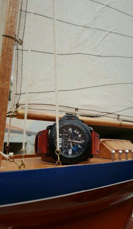 Helfer Diver Chrono #watches #helfer #yacht #diver #ocean #sea #miami