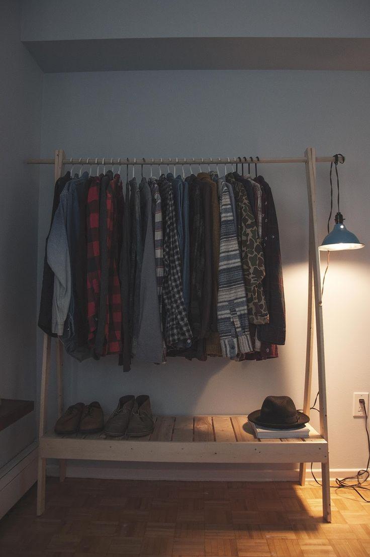 ten zero nine: DIY Wooden Clothes Rack