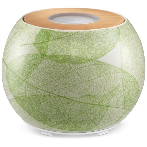 Homedics Ellia Balance Ultrasonic Aroma Diffuser, Created for Macy's ($140) ❤ liked on Polyvore featuring home, home decor, home fragrance, green, scent diffuser, essential oils fragrance diffuser, essential oils diffuser, ultrasonic diffuser and home scents