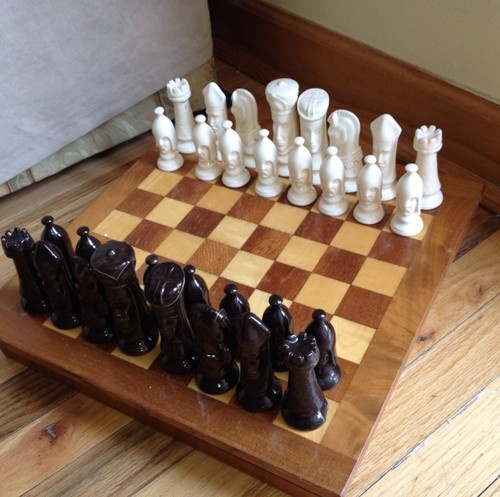1000 images about chess set on pinterest ceramics my dad and vintage - Ceramic chess sets for sale ...