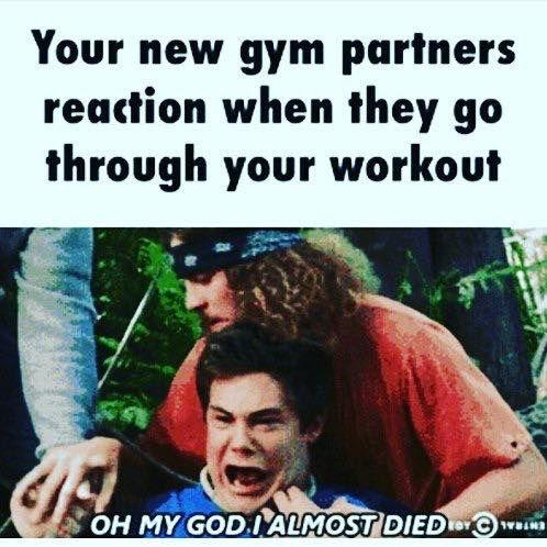 Gym Memes (Instagram Facebook)