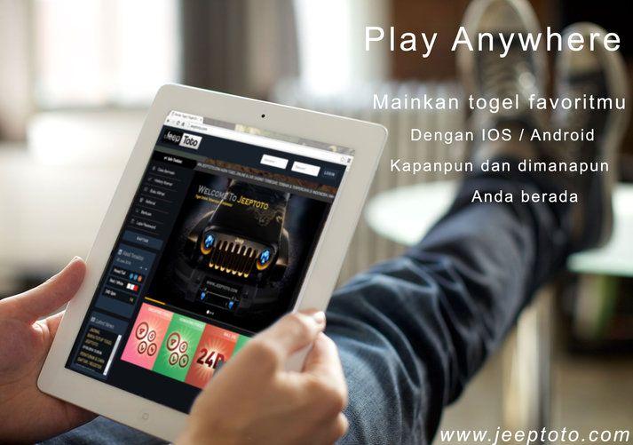 Agen Togel Online Terpercaya Di Indonesia hanya di Jeeptoto.com