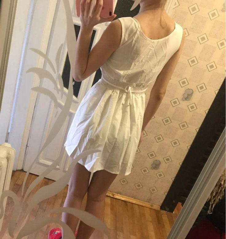 New Sexy Summer Women Casual Dresses Sleeveless Short Mini Dress White Color Hot Sale JKP1871