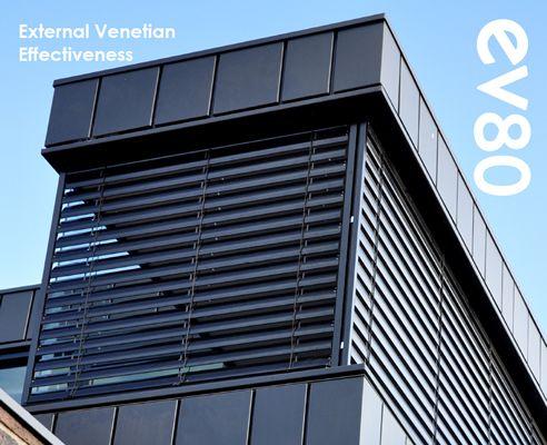 external venetian blinds