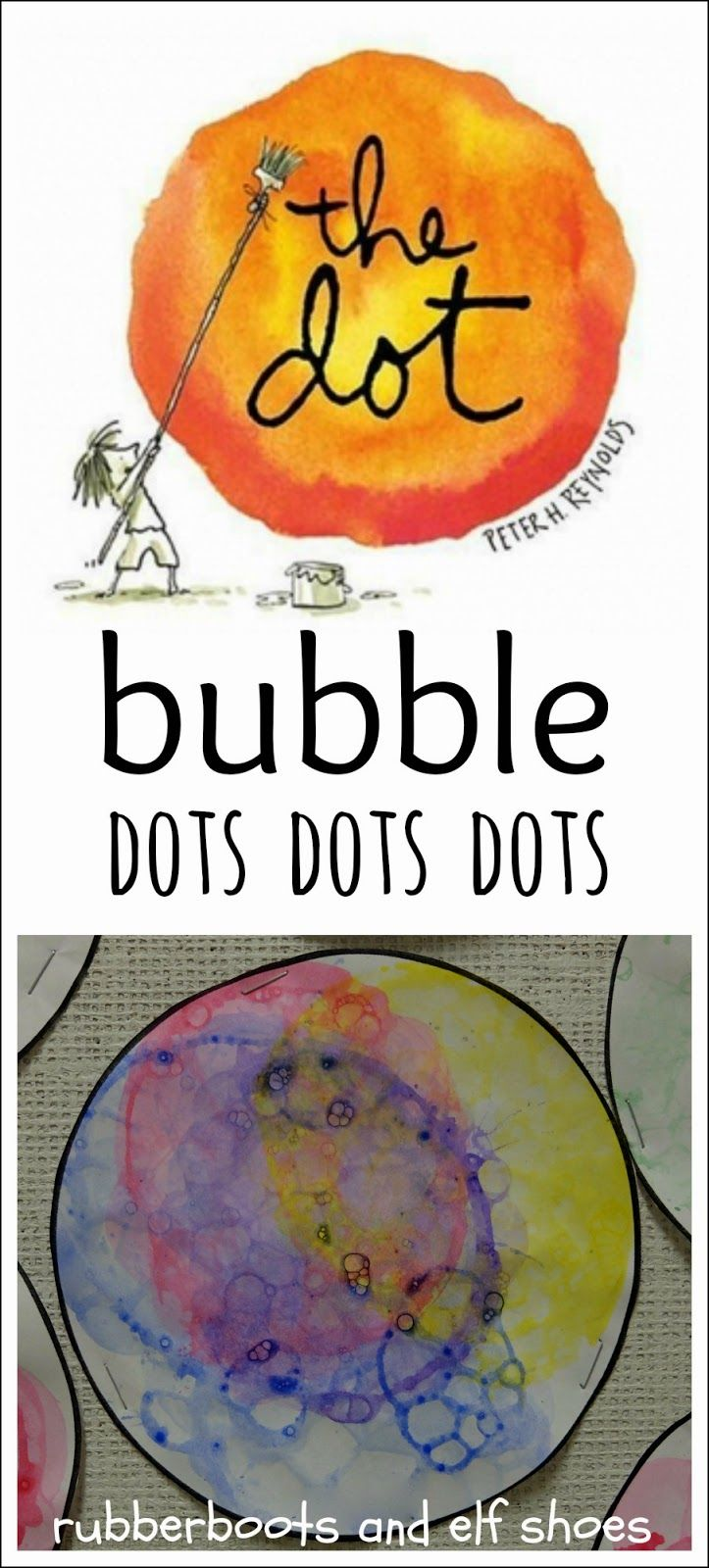 rubberboots and elf shoes: The Dot...great idea for a 'circle week.'