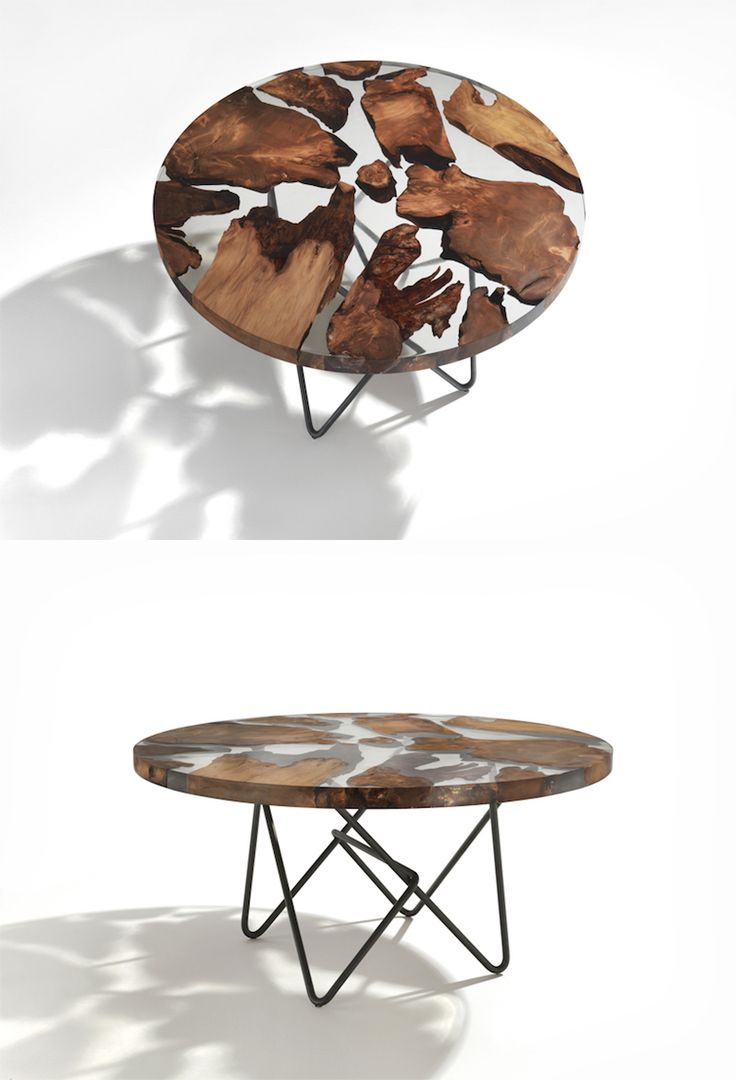 Best Desk Table Furniture Images On Pinterest Furniture - This amazing resin table is made using 50000 year old wood