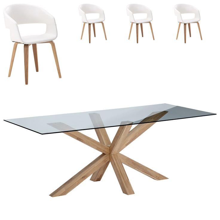 Essgruppe Saskia/Holstebro (90x160, 4 Stühle, weiß) Jetzt bestellen unter: https://moebel.ladendirekt.de/kueche-und-esszimmer/stuehle-und-hocker/esszimmerstuehle/?uid=3b22190a-1c3e-57e7-8fc5-01feb4d1c2fe&utm_source=pinterest&utm_medium=pin&utm_campaign=boards #essgruppen #kueche #esszimmerstuehle #esszimmer #hocker #stuehle Bild Quelle: www.daenischesbettenlager.de