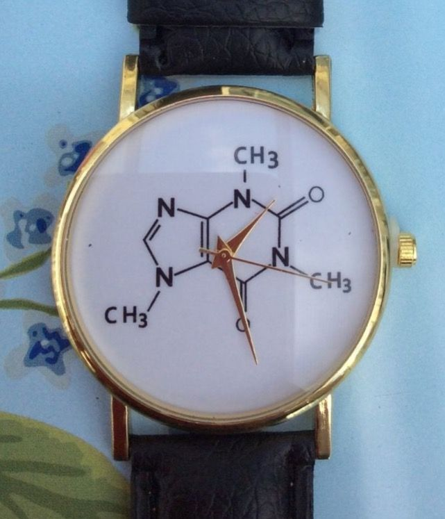 Black Faux Leather Strap - Chemistry Watch #cute #style #fashion #womens #ladies #black #fauxleather #leather #strap #watch #watches #wrist #wristwatch #men #jewellery #accessories #chemistry #science #compound #elements http://m.ebay.co.uk/itm/Black-Faux-Leather-Strap-Chemistry-Science-Women-Wrist-Watch-Ladies-Xmas-Cute-/282438928733?nav=SELLING_ACTIVE