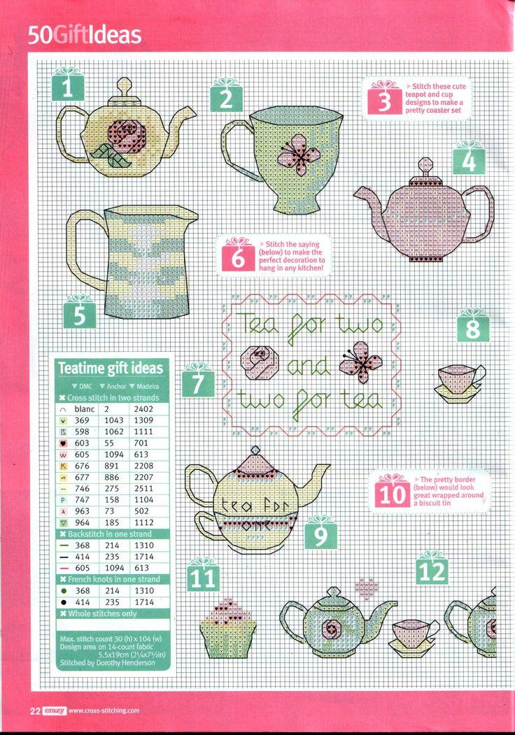 Cross Stitch Crazy - Teatime Gift Ideas 1/4