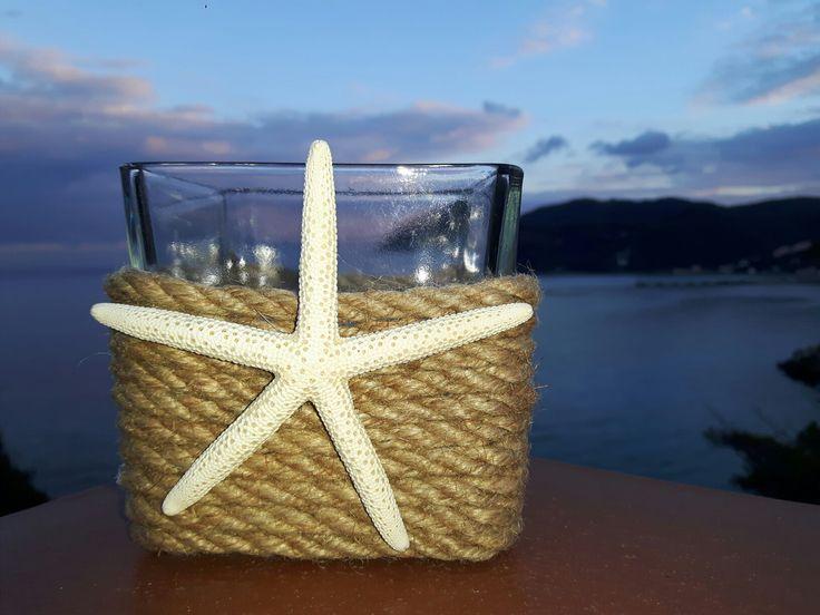 Home decor Porta candele stella marina Seastar candle
