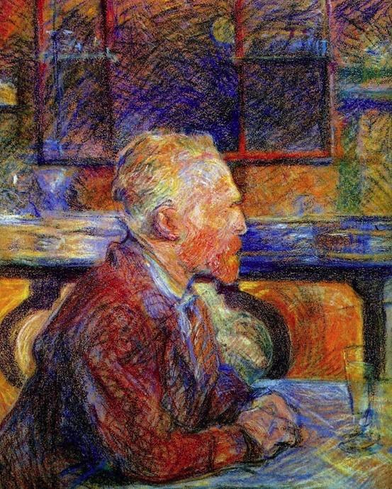 Van Gogh By Lautrec